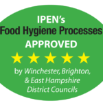 We are APPROVED! East Hampshire and Winchester Councils approve IPEN food hygiene processes